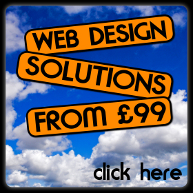 Web design solutions from £99